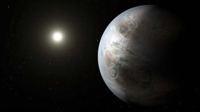 Hvězda kolem které exoplaneta obíhá je starší než naše Slunce