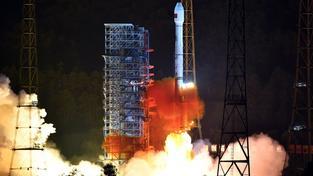 Oba satelity vynesla do vesmíru raketa Dlouhý pochod