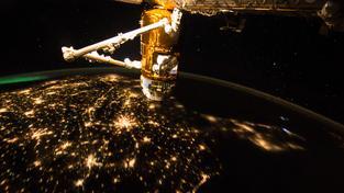 Pohled z ISS na Zemi