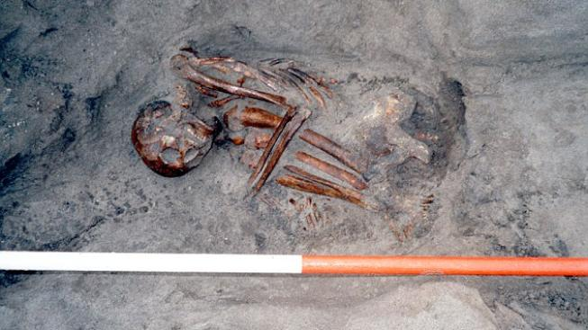 Mumie z doby bronzové nalezená v Británii