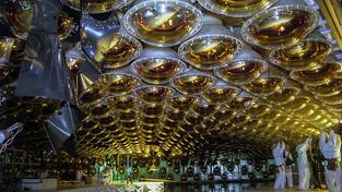 Surreální svět detektoru neutrin
