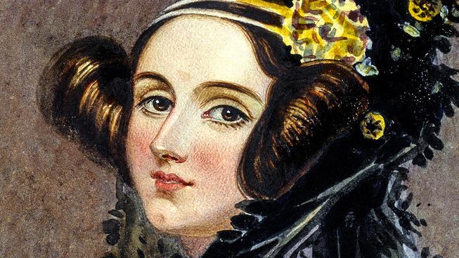 Ada byla nejen schopná matematička, ale i krásná žena