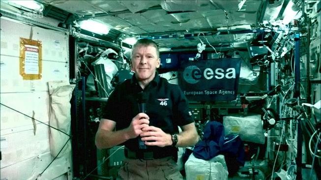 Britský kosmonaut Tim Peake