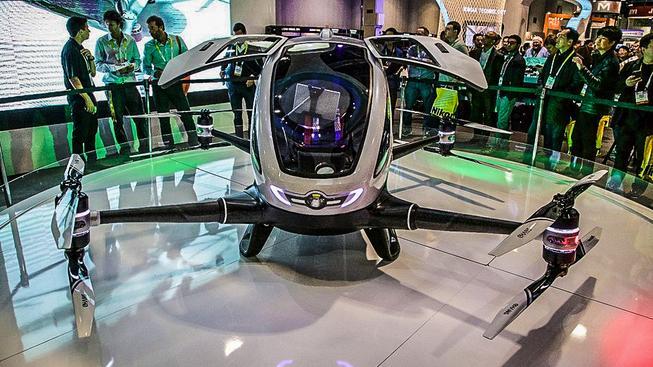 """První """"pilotovaný"""" dron Ehang 184"""