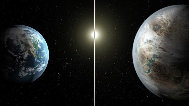 Tak nějak by mohl vypadat starší a větší bratranec Země, extrasolární planeta Kepler-452b
