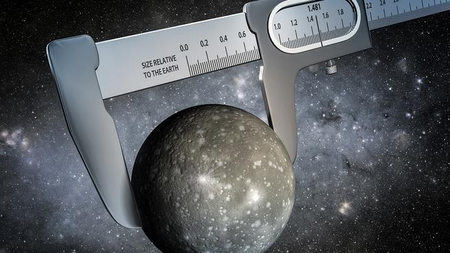 Změřit velikost světa ležícího za hranicemi naší sluneční soustavy je trošku složitější, než jak si to představuje ilustrátor na tomto snímku, díky datům získaným sondou Kepler a s pomocí Spitzerova vesmírného dalekohledu se ale vědcům podařilo provést dosud nejpřesnější měření