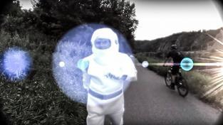 Záběr z videa popisujícího záměr na zřízení planetární stezky