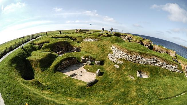 Neolitická vesnice Skara Brae