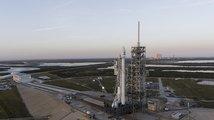 Historický start rakety Falcon 9