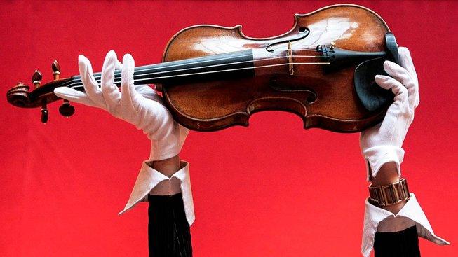Stradivárky známé jako Solomon Ex-Lambert z roku 1729