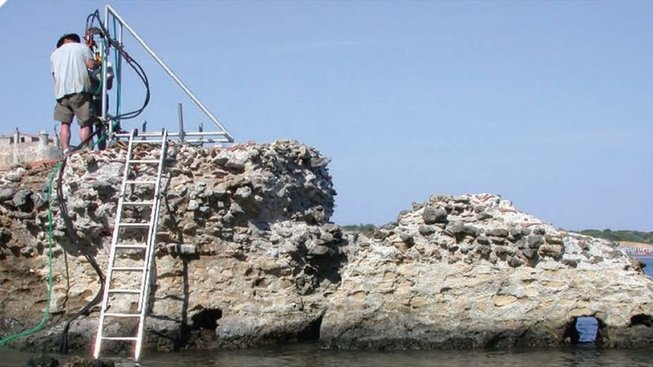 odolný římský beton zkoumají vědci