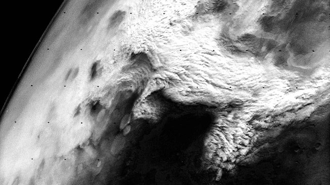 Písečná bouře na Marsu