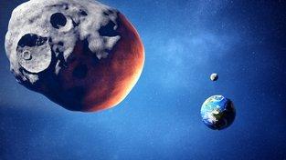 První kroky k obraně: NASA zaměří bludný asteroid, jako by byl hrozbou Zemi