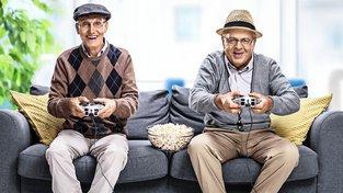 Ve stáří je také potřeba udržovat sociální vztahy. Ilustrační snímek