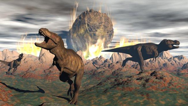 Dopad meteoritu, který vyhubil dinosaury měl ještě horší důsledky, než se předpokládalo. Ilustrační kresba