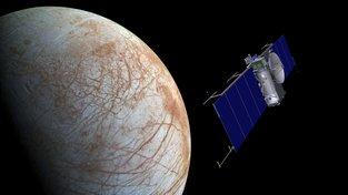 Desetina rozpočtu NASA je určena na průzkum cizích planet, ale například i na průzkum měsíce Europa