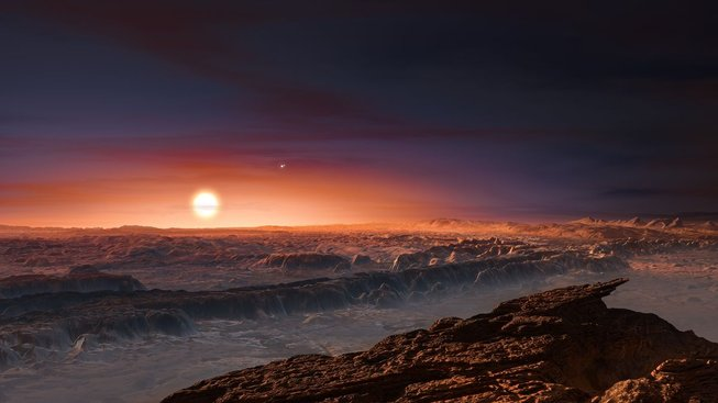 Naše nejbližší exoplaneta Proxima b
