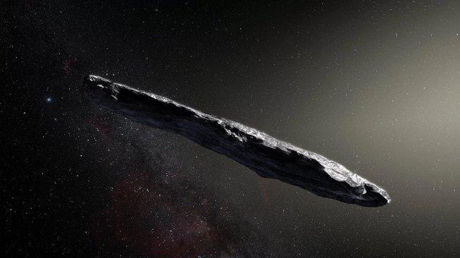 Mezihvězdný asteroid Oumuamua