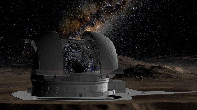 Na severu Chile má vzniknout obří teleskop ESO. Bude mu ale komplikovat práci světelný smog