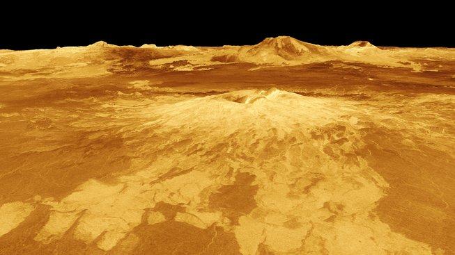 Kontinenty na povrchu Venuše se pohybují