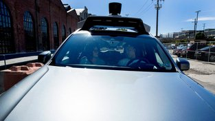 Samořídící auto Uberu. Ilustrační snímek
