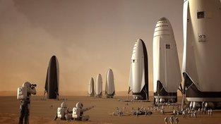 Muskova raketa BFR může do 20 let do kosmu vynést až milion lidí