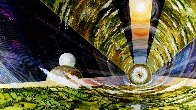 O'Neillův cylindr ve staré představě NASA