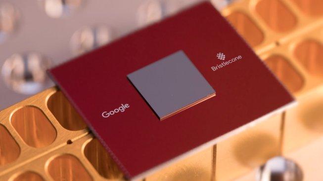 Kvantový čip Google z jara