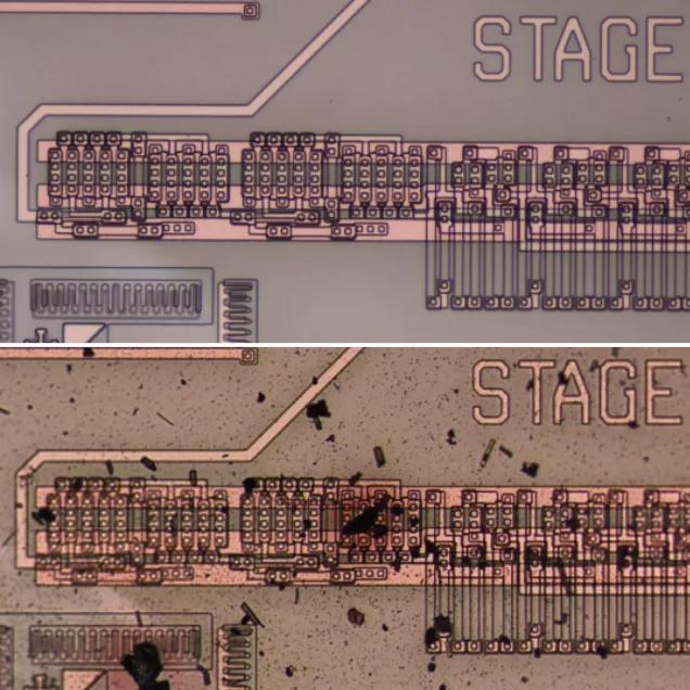 SiC čip z dílny NASA (2017)