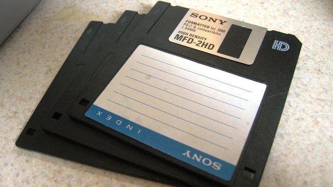 Na počátku byly diskety... Ilustrační snímek