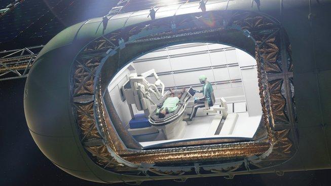 Představa separátního modulu pro chirurgické zákroky