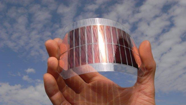 Organické solární panely