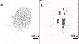 Dvě různé formace stejného roje nanočástic