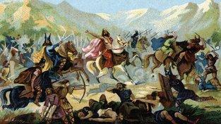 Bitva Franků s Alemany