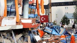Turecko je významný hraniční bod kontinentálních desek