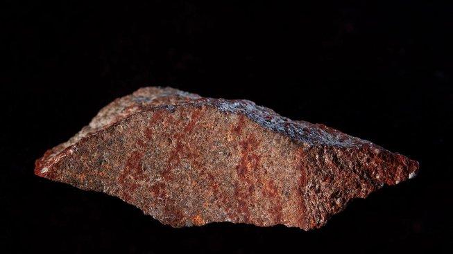 Kamenný úštěpek z jeskyně Blombos