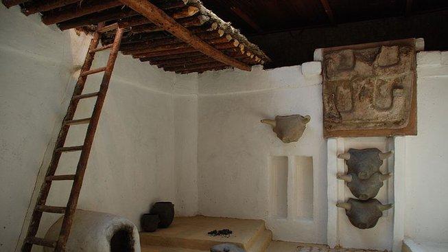 Rekonstrukce interiéru typického příbytku