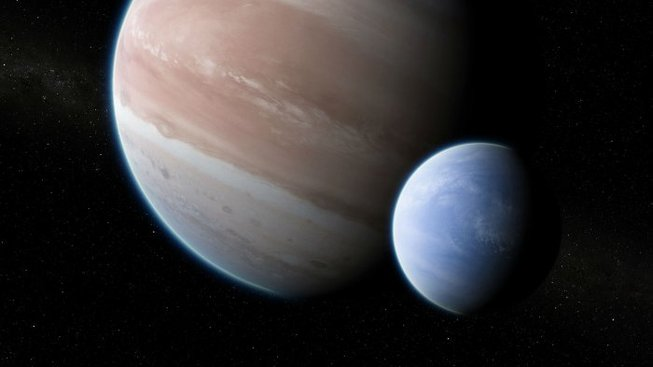 Umělecká představa měsíce Kepler-1625b
