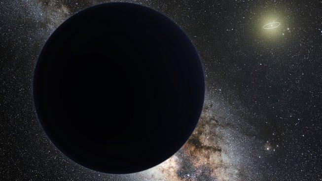 Hypotetická devátá planeta