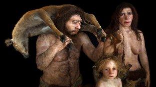 Rekonstrukce rodiny neandrtálců