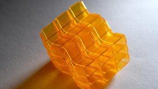 """3D vytisknuté """"origami"""""""