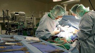 Transplantace srdce. Ilustrační snímek