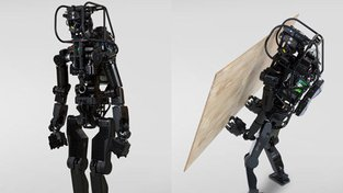 Robot HRP-5P v akci