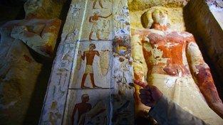 Nově objevená hrobka významného egyptského kněze, který žil před 4400 lety