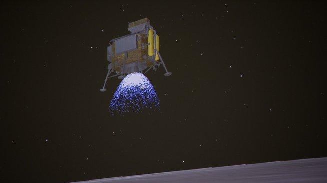 Sonda Čchang-e 4 dosedla na odvrácenou stranu Měsíce
