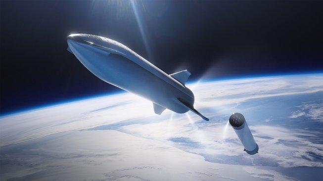 Loď Starship