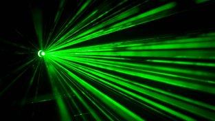 Laser. Ilustrační snímek