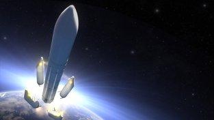 Umělecká představa Ariane 6