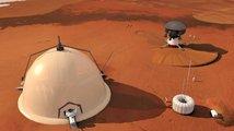 Elon Musk připomněl vizi marťanské kolonie. Jeho konkurent den před tím zkrachoval