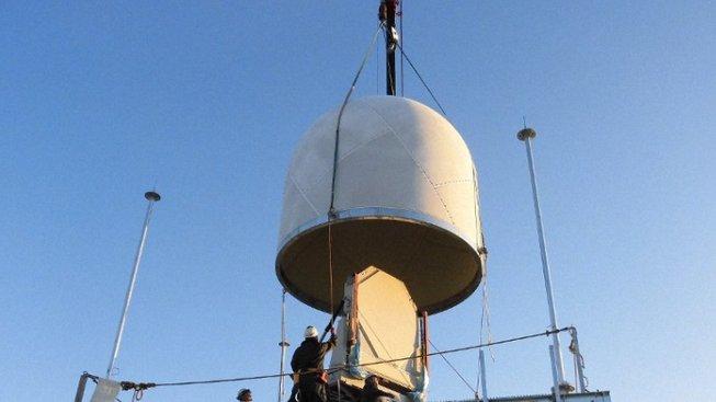Nový japonský radar